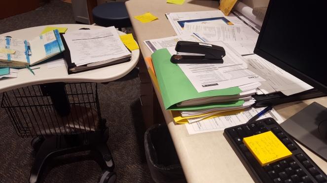 work mess